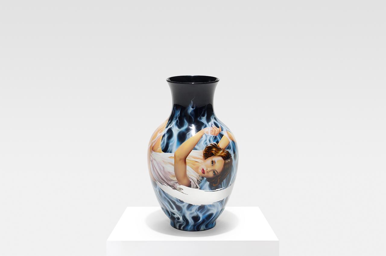 Gasoline Vase Silver Spirit 2